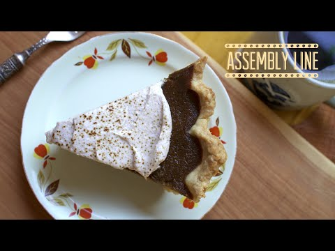 Pumpkin Spiced Latte Pie | Assembly Line