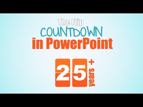 Flip Countdown in PowerPoint