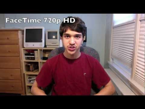 iMac FaceTime HD Video Test