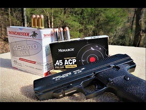 High Point 45 Pistol review - High Point 45 Caliber Handgun