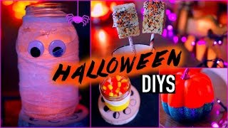 Diy Halloween Decorations Treats