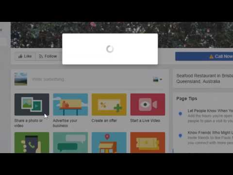 How to create user name for facebook page
