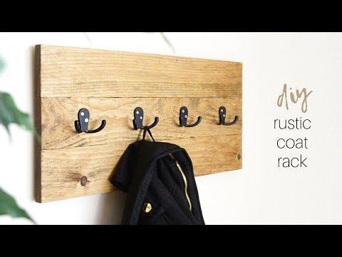 DIY Coat Rack | Coat Hanger