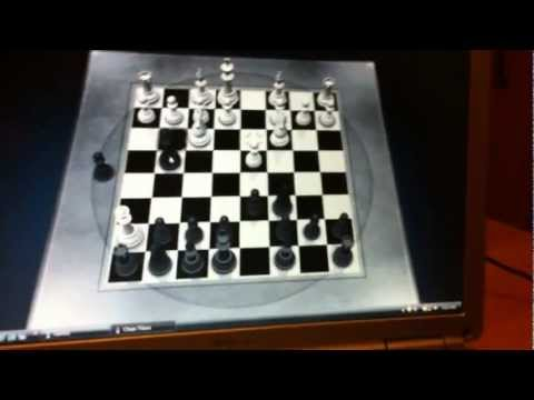 Me and my friend playing Chess