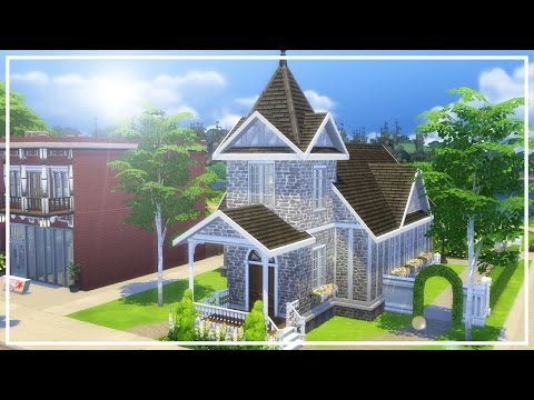 WILLOW WEDDING CHURCH // The Sims 4: Speed Build