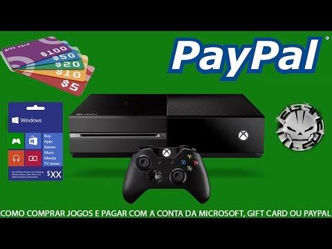 XBOX ONE - COMO COMPRAR USANDO PAYPAL OU GIFT CARD / MUDANDO IDIOMA DA CONTA!!! (Português BR)