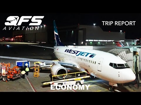 TRIP REPORT   WestJet - 737 700 - Toronto (YYZ) to New York (LGA)   Economy