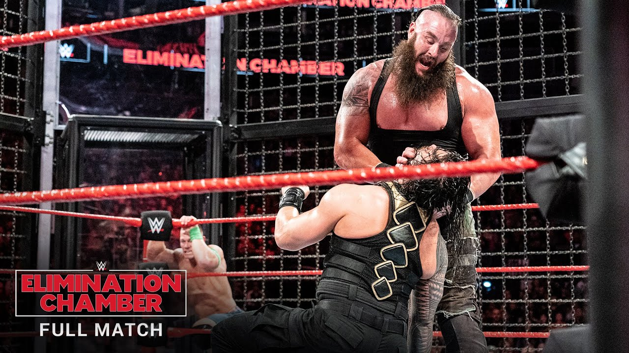 FULL MATCH - Men's Elimination Chamber Match: WWE Elimination Chamber 2018