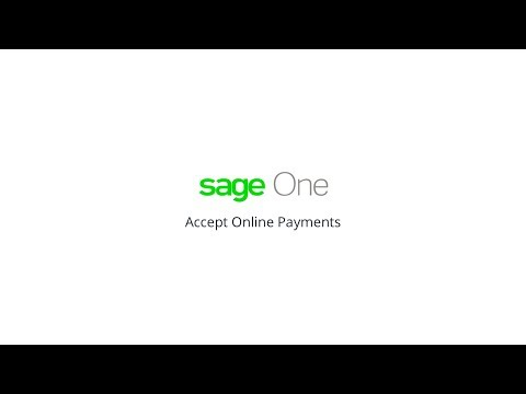 Connect Sage One to Stripe, WorldPay and more - accept online payments