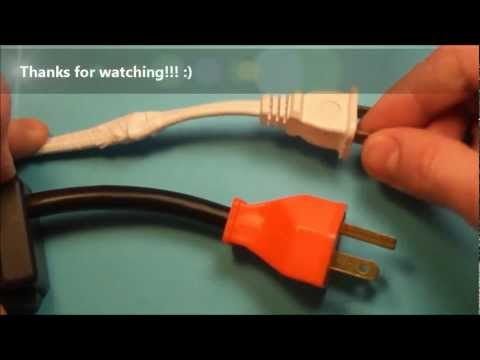 How to Fix a Broken Electrical Cord / Wire