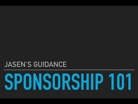 Jasen's Customs: Approaching Sponsorship 101