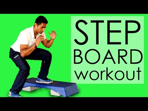 HINDI: Step Board Workout For Beginners
