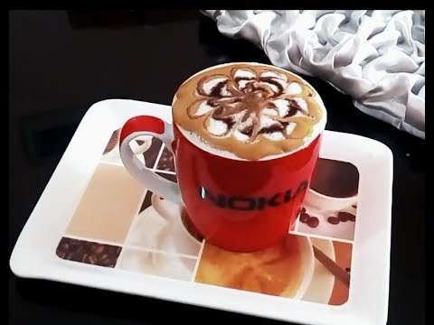 CAPPUCCINO COFFE /ক্যাপিচিনো কফি/HOW TO MAKE CAPPUCCINO AT HOME WITHOUT EXPENSIVE COFFEE MACHINE