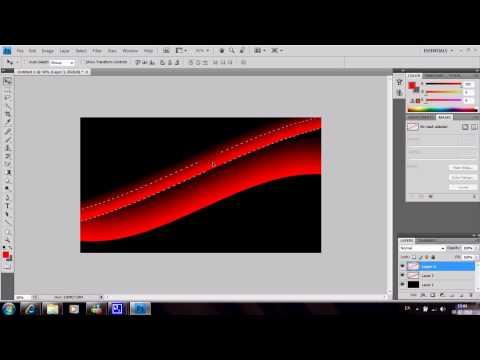 Amazing Wallpaper tutorial Photoshop