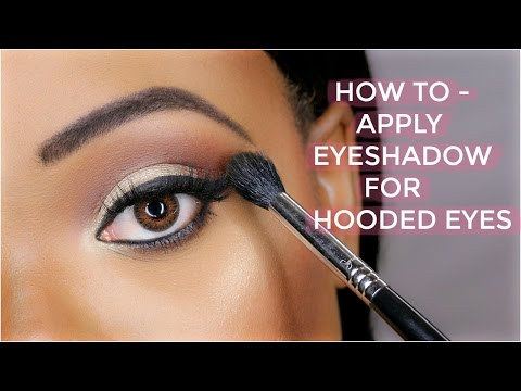HOW TO APPLY EYESHADOW FOR HOODED EYES | OMABELLETV