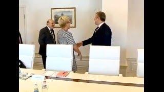 შეხვედრა ევროპის საბჭოს საპარლამენტო ასამბლეის თანამომხსენებლებთან