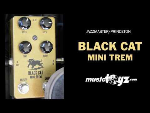 Black Cat Mini Trem Guitar Pedal