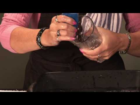 Basic Household Cleaning : How to Wash Drinking Glasses by Hand