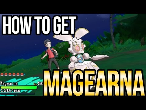 How to Get Magearna in Pokemon Sun + Moon!