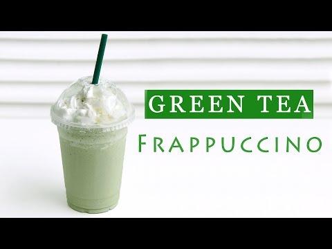 Starbucks Green Tea Frappuccino Recipe - Copycat 스타벅스 그린티 프라푸치노 만들기 - 한글 자막