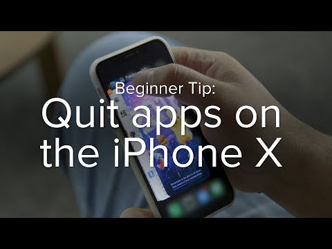 How to quit apps on the iPhone X | Macworld Beginner Tip