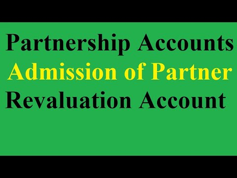 2 Revaluation or Profit and Loss Adjustment Accounts