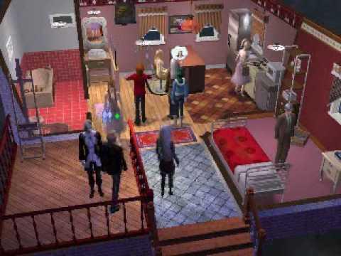 Sims2 : 10人ほど召喚してみた