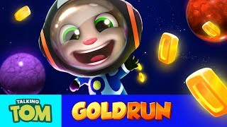 Talking Tom Gold Run – Tom Goes to Space (New Update)