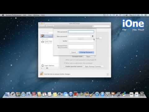 How to Change Password User in Mac OS