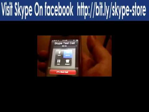 Skype on the iPhone through EDGE (or 3G) Data Network http://tinyurl.com/mobiletopup