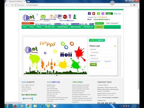 Free Online Recharge system in India