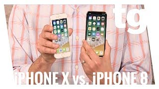 iPhone X vs iPhone 8 and iPhone 8 Plus
