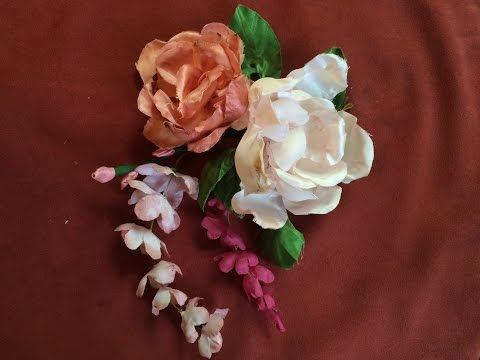 How to Make Fabric Flowers (5/5)