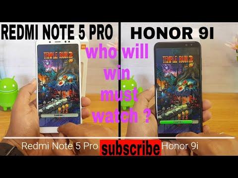 Redmi note 5 pro VS Honor  9i Speed test | Redmi note 5 pro vs honor 9i COMPARISON which is best