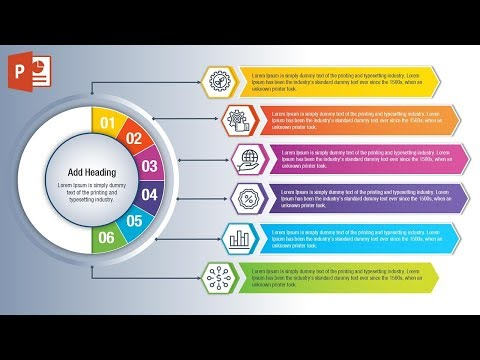 Design Workflow Layout & Business Infographics in Microsoft Office PowerPoint