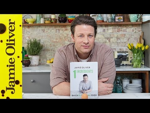 Jamie's NEW Book | 1 Ingredients | QuickER & EasiER Food