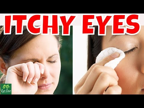 What CAUSES EYES ITCHY At Night