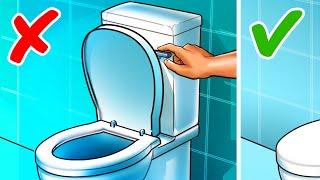 욕실에서 우리가 계속 잘못하고 있는 13가지