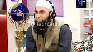 Junaid Jamshed funny moments!!!