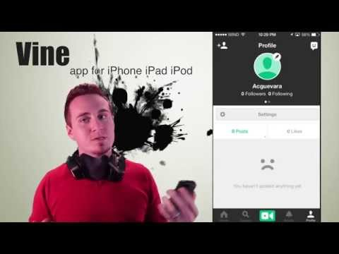 Vine app how to download and how it works for iPhone iPad iPod