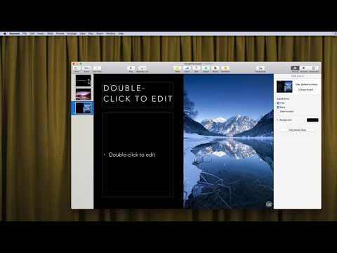 Recording a Pecha Kucha Presentation in Keynote for Mac