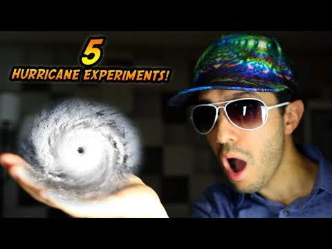 Top 5 Hurricane Irma Science Experiments 2017 DIY Hurricanes and Tornado!