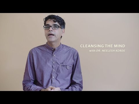 Three steps for Cleansing the Mind (Diet, Exercise and Meditation)