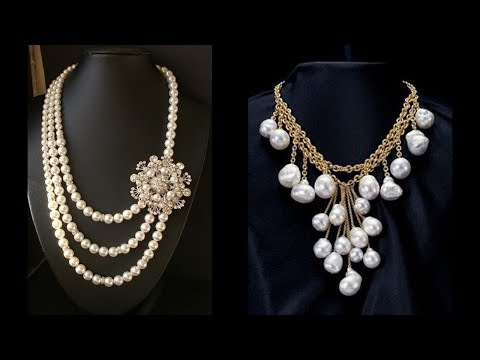 Exclusive Pearl Necklace Designs 2018
