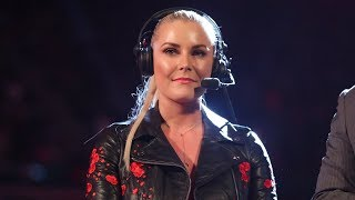 Go behind the scenes as Renee Young becomes the first woman to call Raw: Exclusive, Aug. 17, 2018