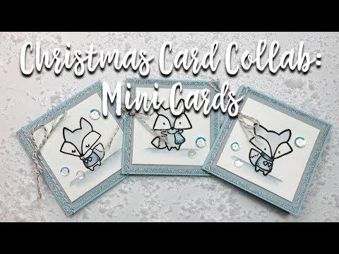 Christmas Card Collab: Mini Cards