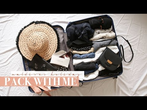 Pack With Me - Honeymoon in the Maldives | Mademoiselle