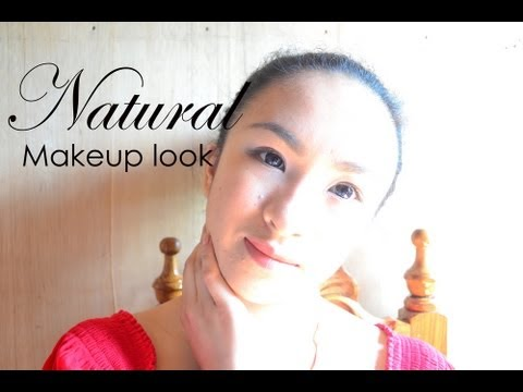 Back to School Office Work Natural No Makeup Everyday Look