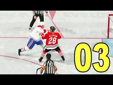 NHL 15 - Part 3 - Hockey Fight! (Let's Play / Walkthrough / Gameplay)