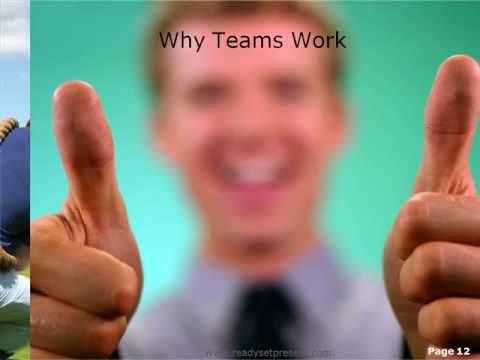 Team Building PowerPoint (PPT) Content Modern Sample